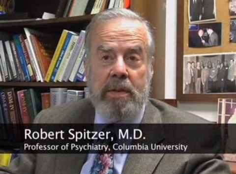 Dr. Robert Spitzer. (Photo courtesy of YouTube)