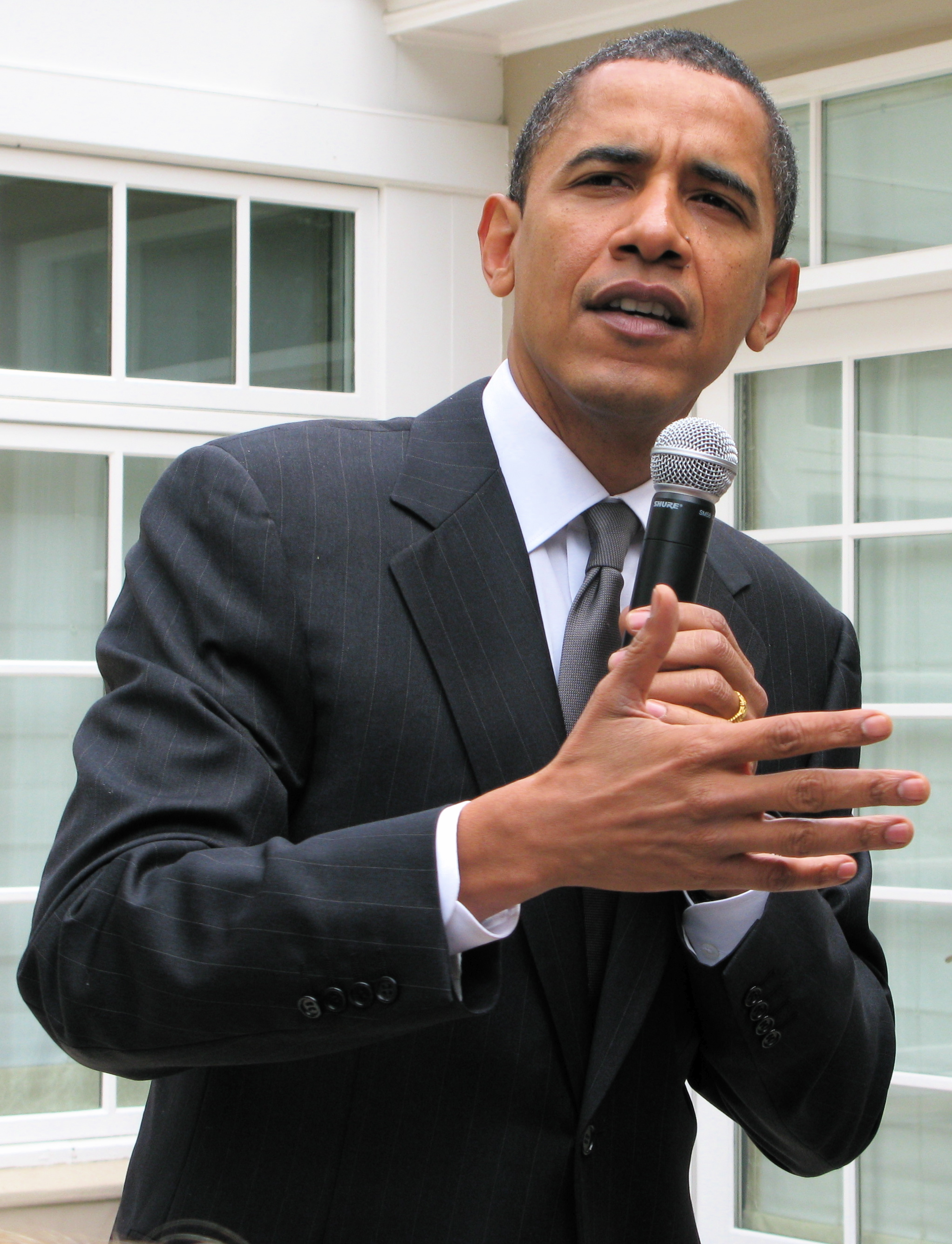 Barack Obama (Photo by Steve Jurvetson via Wiki Commons)