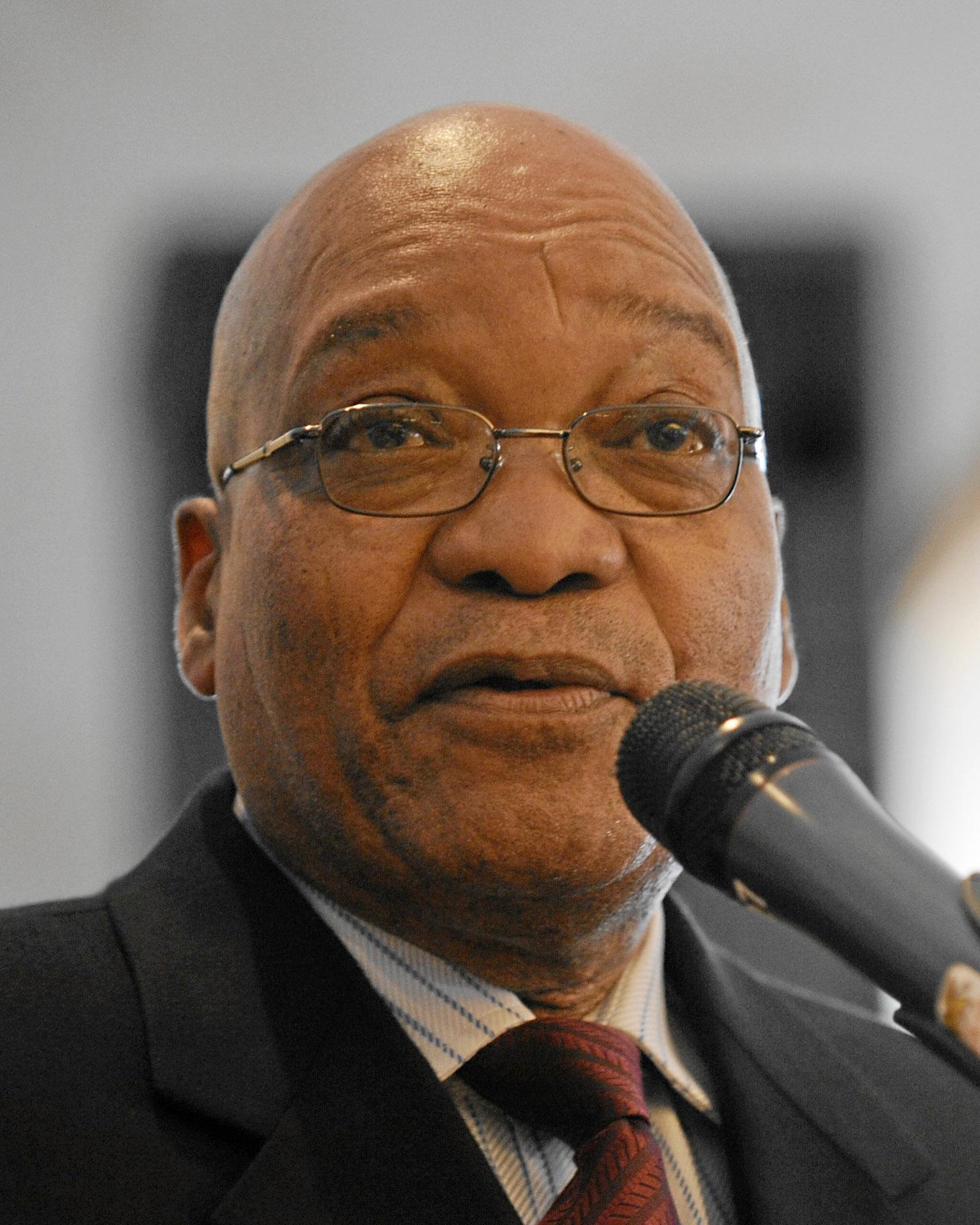 Jacob Zuma, South Africa president (Photo by Michael Wuertenberg via Wiki Commons)