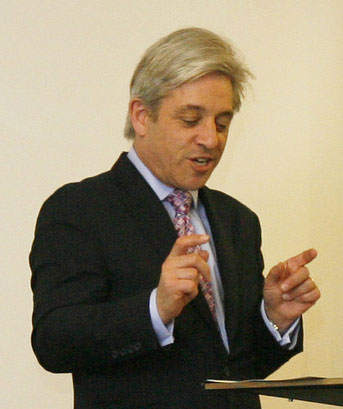 John Bercow (Photo courtesy of Kaleidoscope Trust)