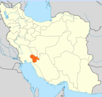 Kohgiluyeh and Boyer-Ahmad Province in Iran. (Map courtesy of Wikipedia)