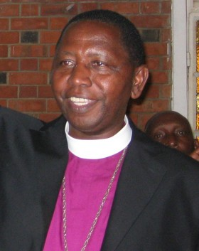 Stanley Ntagali, archbishop-elect of the Church of Uganda