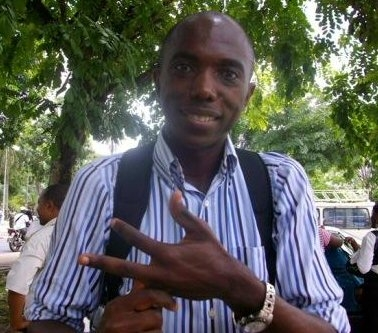 Stéphane Tchakam, hard-working, courageous activist for LGBTI rights.