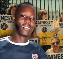 Jean-Claude Roger Mbede urges support for Amnesty International