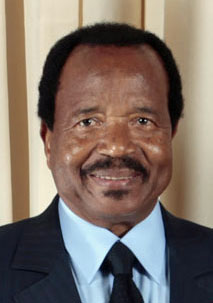 Cameroon President Paul Biya (Photo courtesy of Wikimedia Commons)