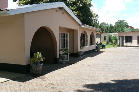 GALZ compound in Harare, Zimbabwe, in 20009. (Photo courtesy of GlobalGayz.com)