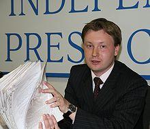 Nikolai Alexeyev (Photo courtesy of Wikipedia)