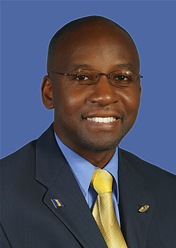 Barbados official Stephen Lashley