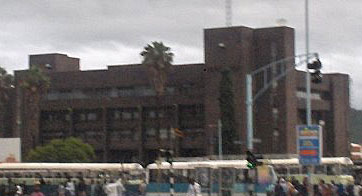 Harare central police station.