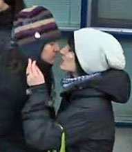 Moscow 'Kissing Day' protest on Jan. 22. (Photo courtesy of Actup.org)