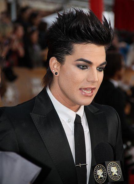 Adam Lambert. (Photo courtesy of Wikimedia Commons)