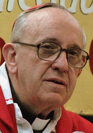 Francis I (Cardinal Jorge Bergoglio in 2008) (Photo by Aibdescalzo via Wikimedia Commons)
