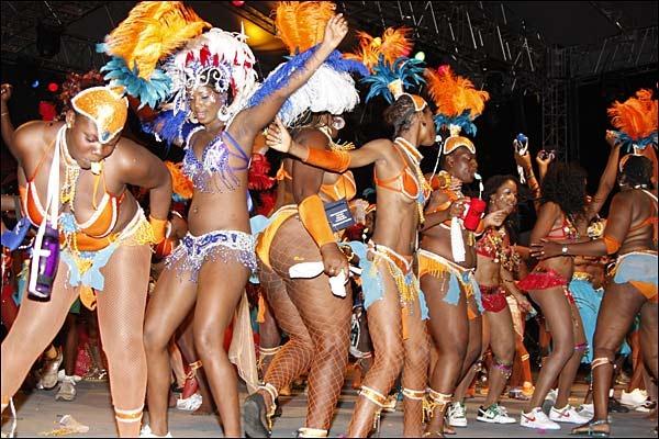 Antigua Carnival scene