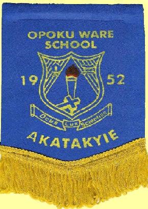 Opoku Ware School banner