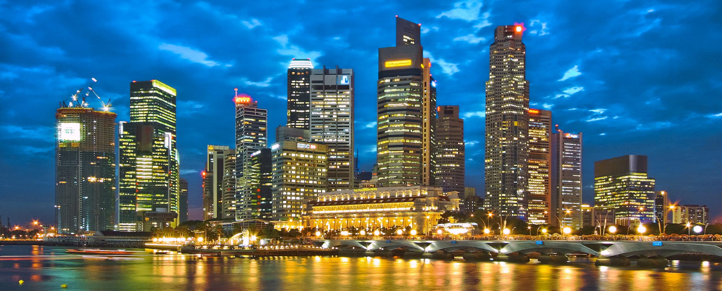 Singapore skyline (Photo via Wikimedia Commons)