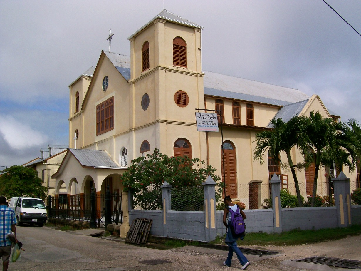 Roman Catholic cathedral in Belize.