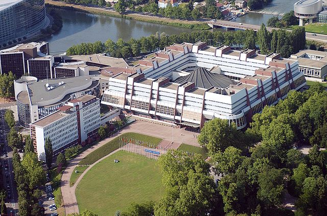 The Council of Europe's  Palais de l'Europe (Photo courtesy of Wikipedia)