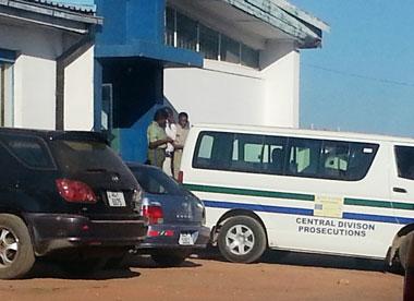 Kapiri Mposhi police station, where James Mwape and Philip Mubiana are held while awaiting court proceedings.