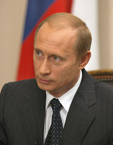 Russian President Vladimir Putin (Photo courtesy of WIkimedia Commons)