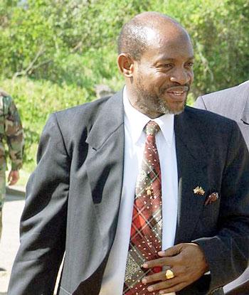 Denzil Douglas, prime minister of St. Kitts-Nevis (Photo by John Houghton via Wikimedia Commons)