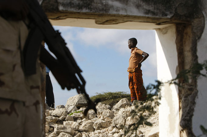Devastation in Somalia. (Photo courtesy of Aljazeera.com)