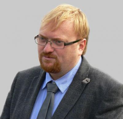 Vitaly Milonov (Photo courtesy of Gay Star News)