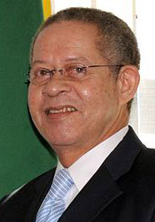 Bruce Golding, former Jamaican prime minister (Photo by Antonio Cruz via WIkimedia Commons)