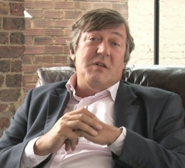 Stephen Fry (Photo courtesy of Wikimedia Commons)