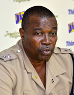 Devon Watkis, asst. commissioner, Jamaican police. (Photo courtesy of Jamaican Information Service)