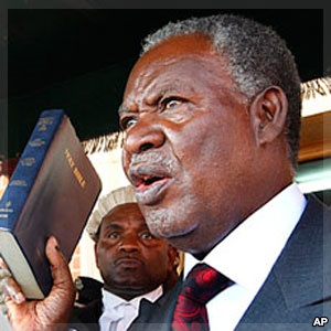 Zambian President Michael Sata (Photo courtesy of VOA.com)
