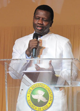 Pastor Enoch Adeboye (Photo courtesy of Wikipedia)