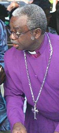 Anglican Bishop Justus Mogekwu (Photo courtesy of Delta Oshobe)