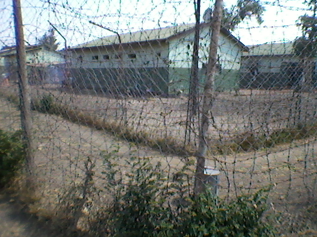 View of the Mpima remand prison, where the defendants are being held.