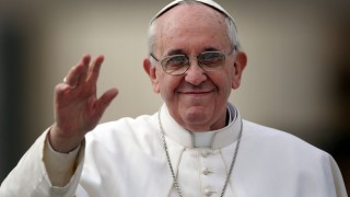 Pope Francis (Photo courtesy of Sourcefed.com)