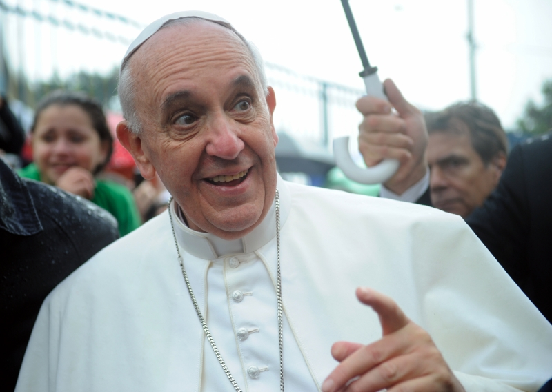 Pope Francis (Photo courtesy of Wikimedia Commons)