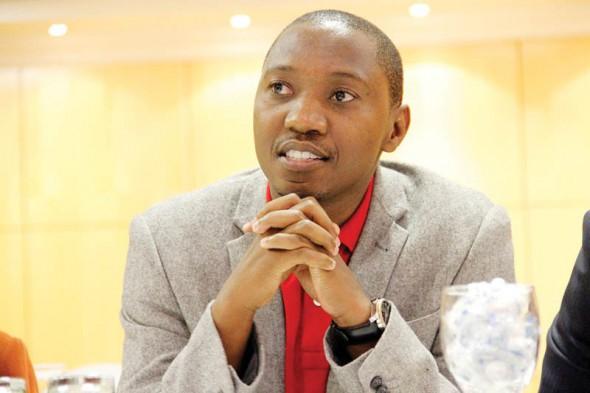 Uyapo Ndadi, director of Bonela (Photo courtesy of Mmegi Online)