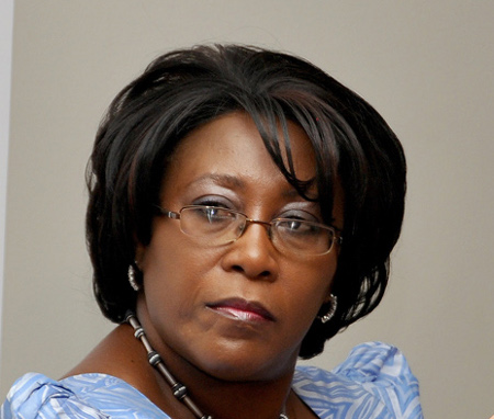 Dr. Christine Kaseba-Sata, physician and wife of Zambian President Michael Sata. (Photo courtesy of Lusaka Times)