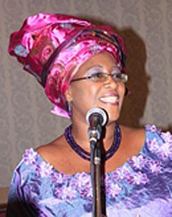 Dr. Christine Kaseba-Sata (Photo courtesy of WHO)