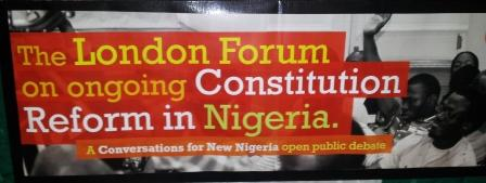 Nigerian forum in London 12 2013