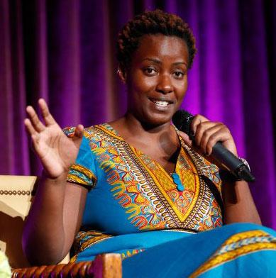Clare Byarugaba in Los Angeles (Photo by Joe Kohen courtesy of The Daily Beast)