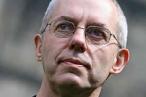 Archbishop of Canterbury Justin Welby has invited gay bishops to next year's Lambeth Conference.(Photo courtesy of Info.Catho.be)