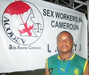 Adonis Tchoudja (Photo by Aids Acodev Cameroon)