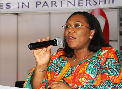 Dr. Angela El-Adas, Director-General, Ghana AIDS Commission