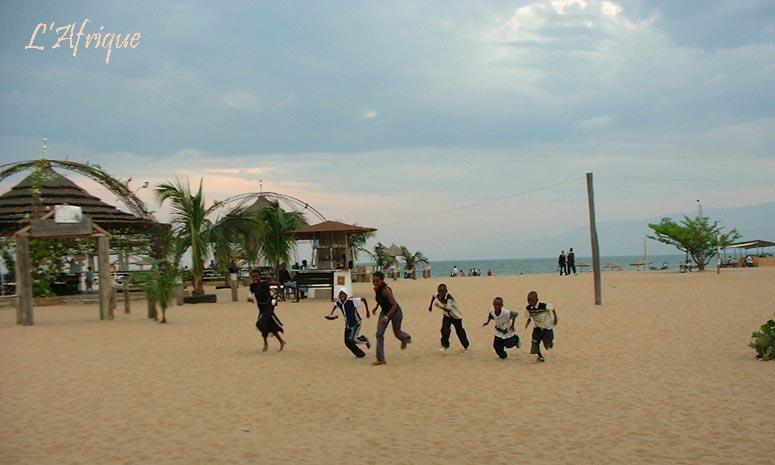 Bujumbura scene in Burundi on the shore of Lake Tanganyika. (Photo courtesy of LAfrique.com)