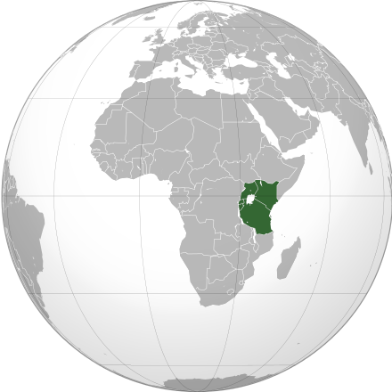 East African Community members (Map courtesy of WIkipedia)