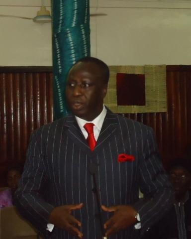 Bala Garba Jahumpa Foreign Affairs Minister of The Gambia