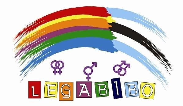 A logo of LEGABIBO (Lesbians, Gays, and Bisexuals of Botswana)