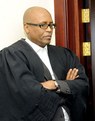 Justice Terence Rannowane (Photo by Ogopoleng Kgomoethata courtesy of the Botswana Daily News)