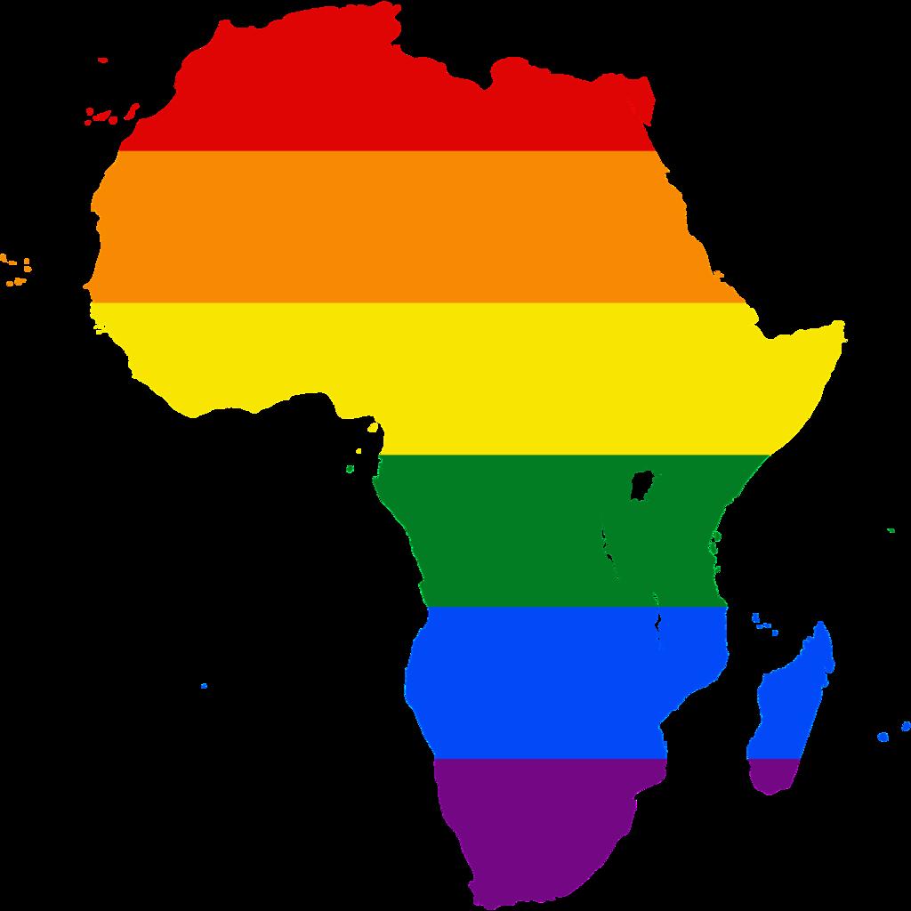 Rainbow-colored Africa (Image courtesy of WIkipedia)