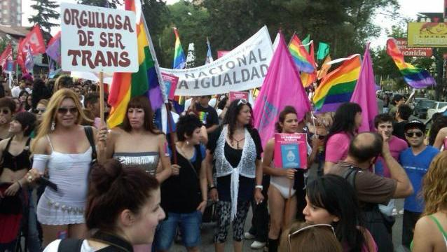 Buenos Aires, Argentina protest, November 7, 2014, report courtesy diarioregistrado.com